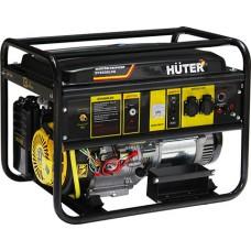 Электрогенератор Huter DY6500LXG с электростартером, газ / бензин (5.0 кВт / 5.5 кВт)