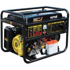 Электрогенератор трехфазный Huter DY8000LX-3  с электростартером (6.5 кВт / 7.0 кВт)