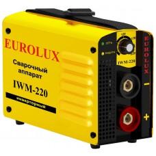 Сварочный аппарат инверторный Eurolux IWM-220 (220 А)
