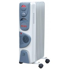 Обогреватель масляный Ресанта ОМ-7НВ с тепловентилятором (1.9 кВт)