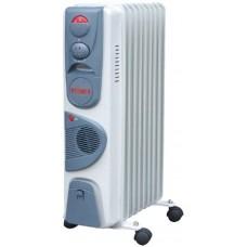 Обогреватель масляный Ресанта ОМ-9НВ с тепловентилятором (2.4 кВт)